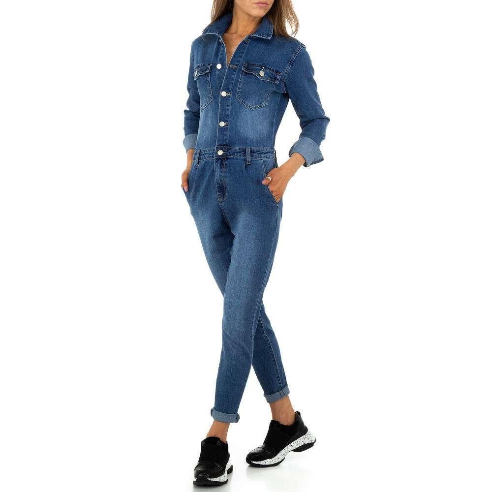 Pantaloni scurți pentru femei de M.Sara Denim - albastru