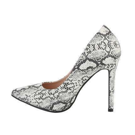 Damen High-Heel Pumps - snake