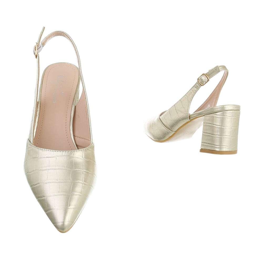 Pantofi cu toc înalt pentru femei - LT.gold - image 3