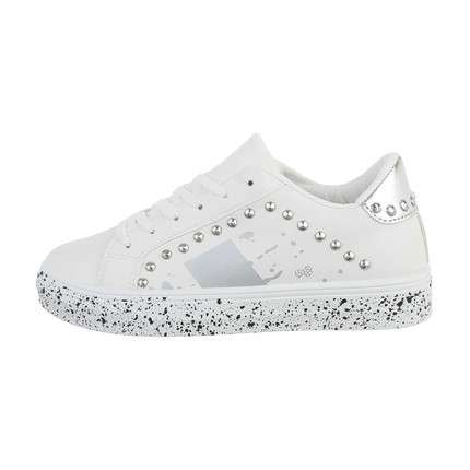 Damen Low-Sneakers - silver