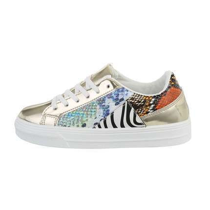 Damen Low-Sneakers - snake