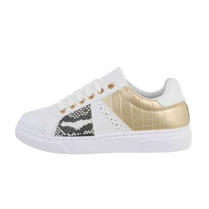 Damen Low-Sneakers - whitegold