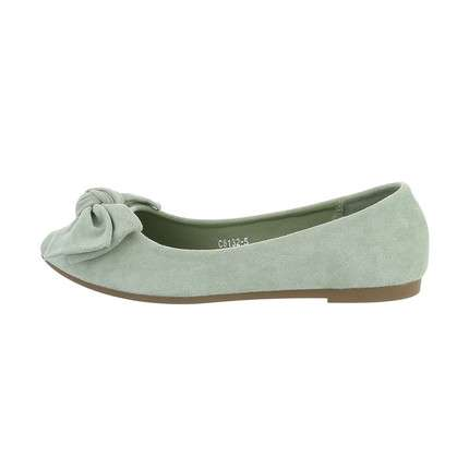 Damen Ballerinas - green