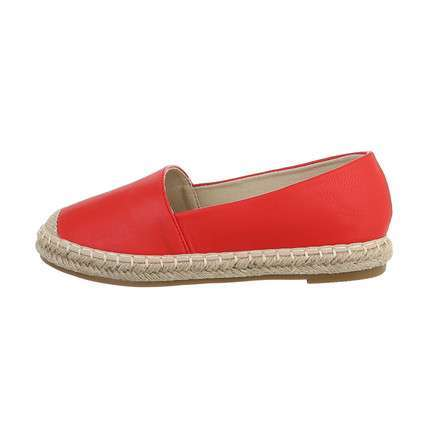 Damen Espadrilles - red
