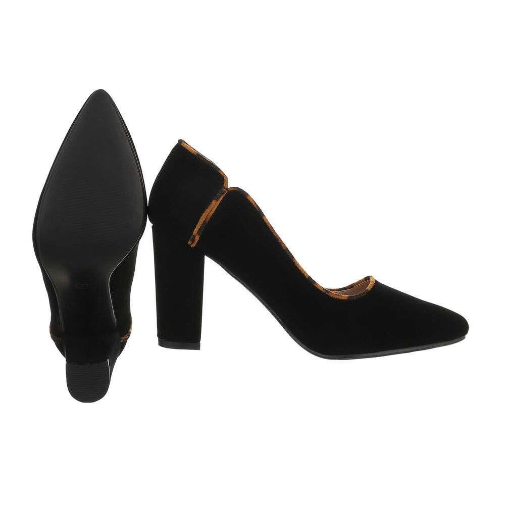 Pantofi cu toc înalt pentru femei - BK.leopard - image 2