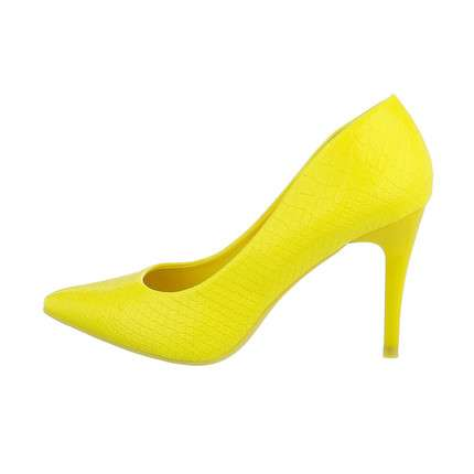 Damen High-Heel Pumps - yellow