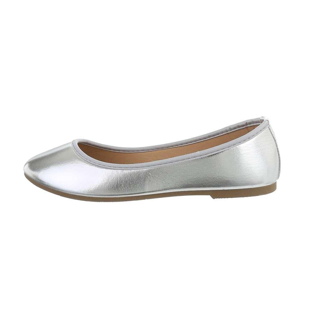 Balerini pentru femei - argintii - image 1
