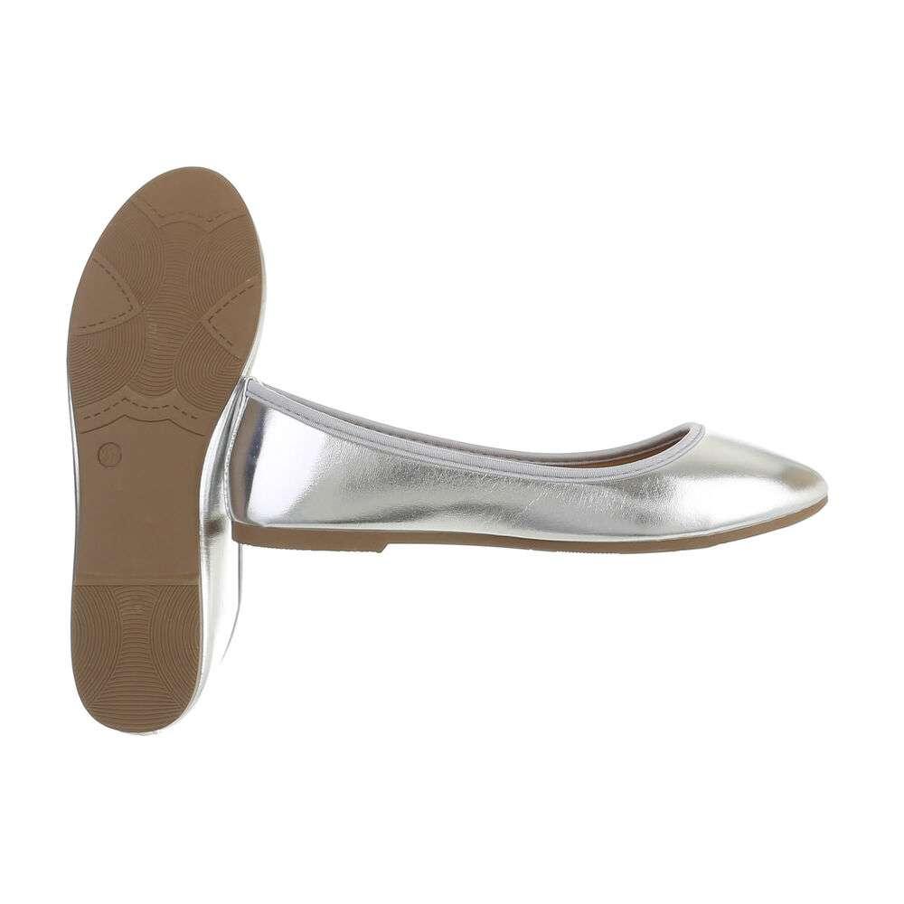 Balerini pentru femei - argintii - image 2