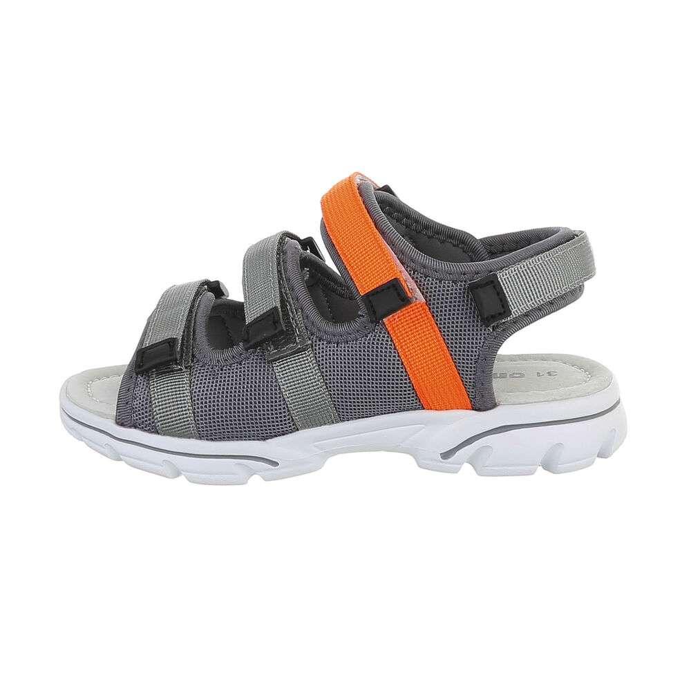 Sandale ortopedice pentru copii - gri - image 1