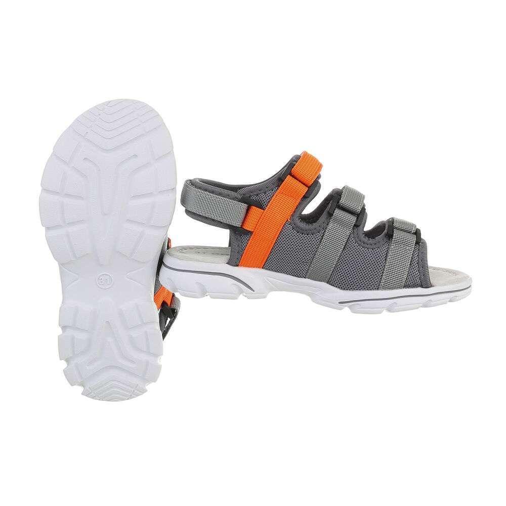Sandale ortopedice pentru copii - gri - image 2