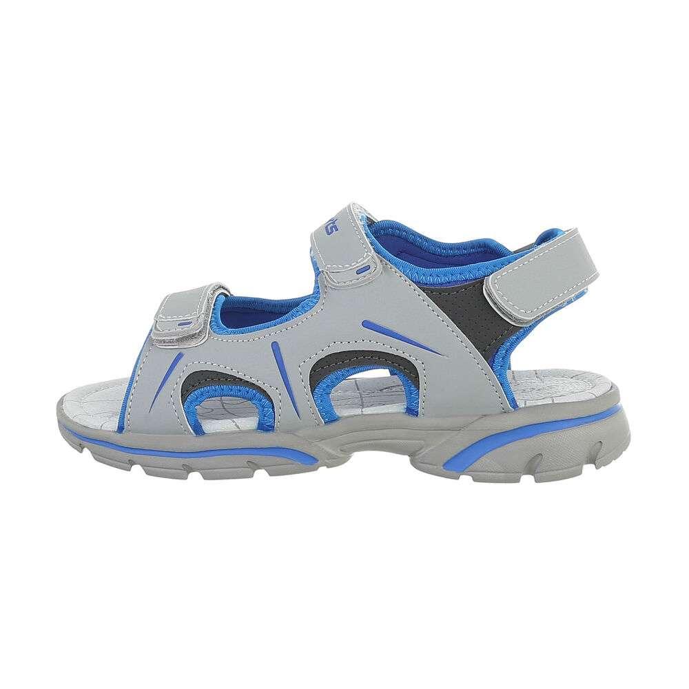 Sandale ortopedice pentru copii - gri deschis