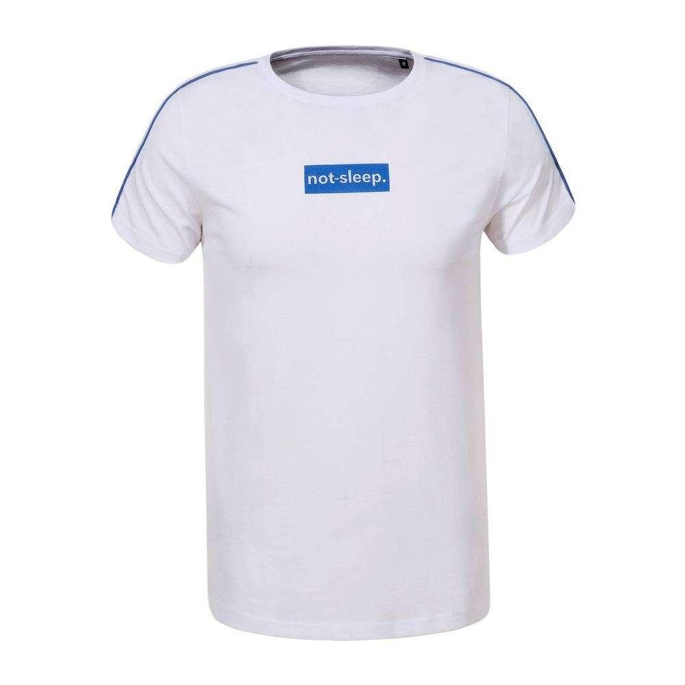 Tricou bărbătesc marca Glo storye - alb - image 1
