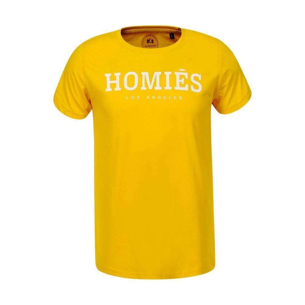 Tricou bărbătesc de la Glo storye - galben