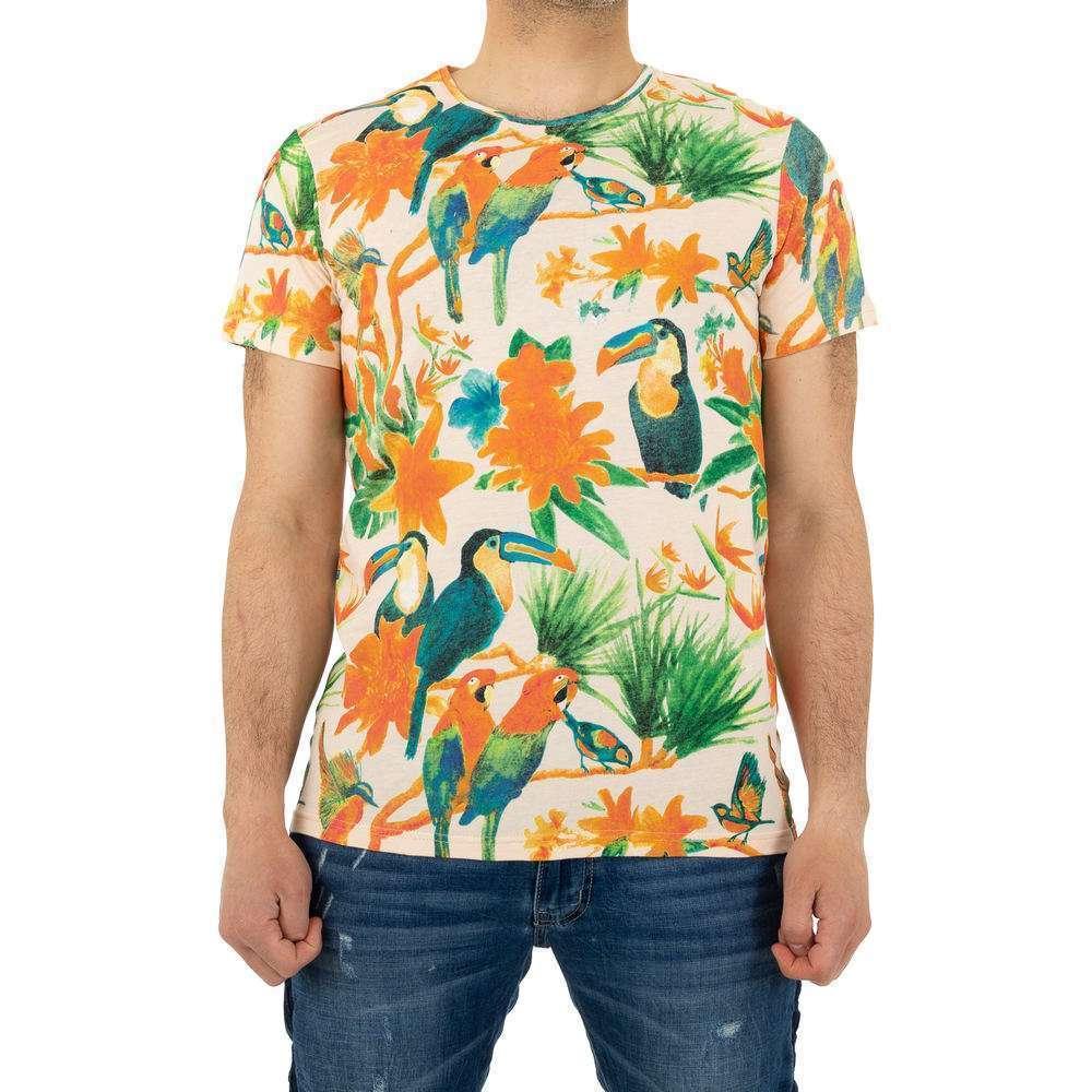 Tricou bărbătesc marca Glo Story - trandafir