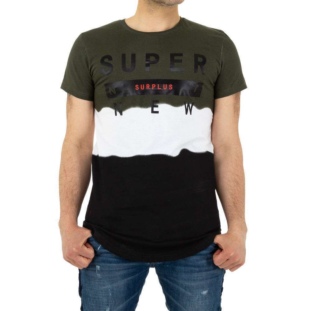 Tricou bărbătesc de la Glo Story - kaki