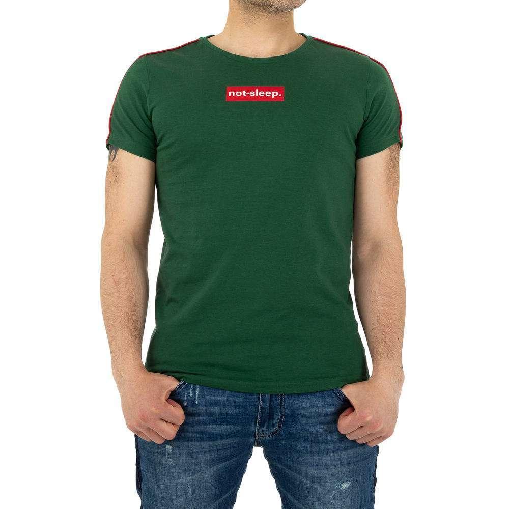 Tricou bărbătesc marca Glo storye - verde