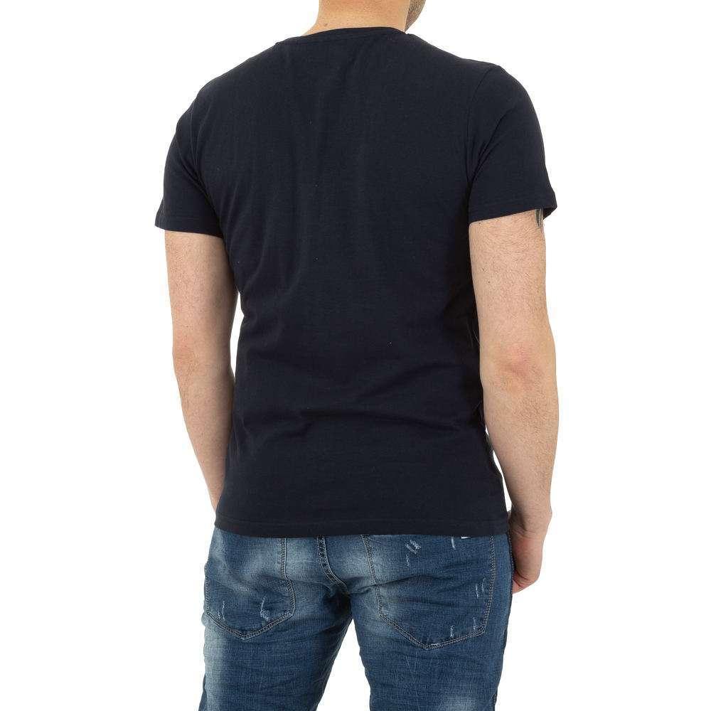 Tricou bărbătesc de la Glo storye - albastru închis - image 3