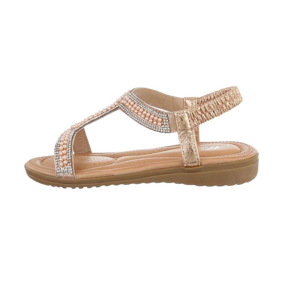 Sandale plate pentru femei - chanpane