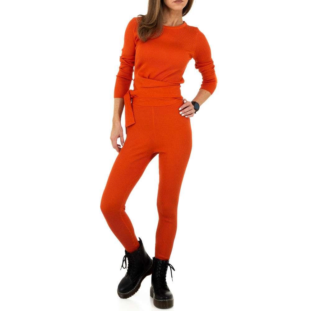 Женский костюм от Ноэми Кент - оранжевый