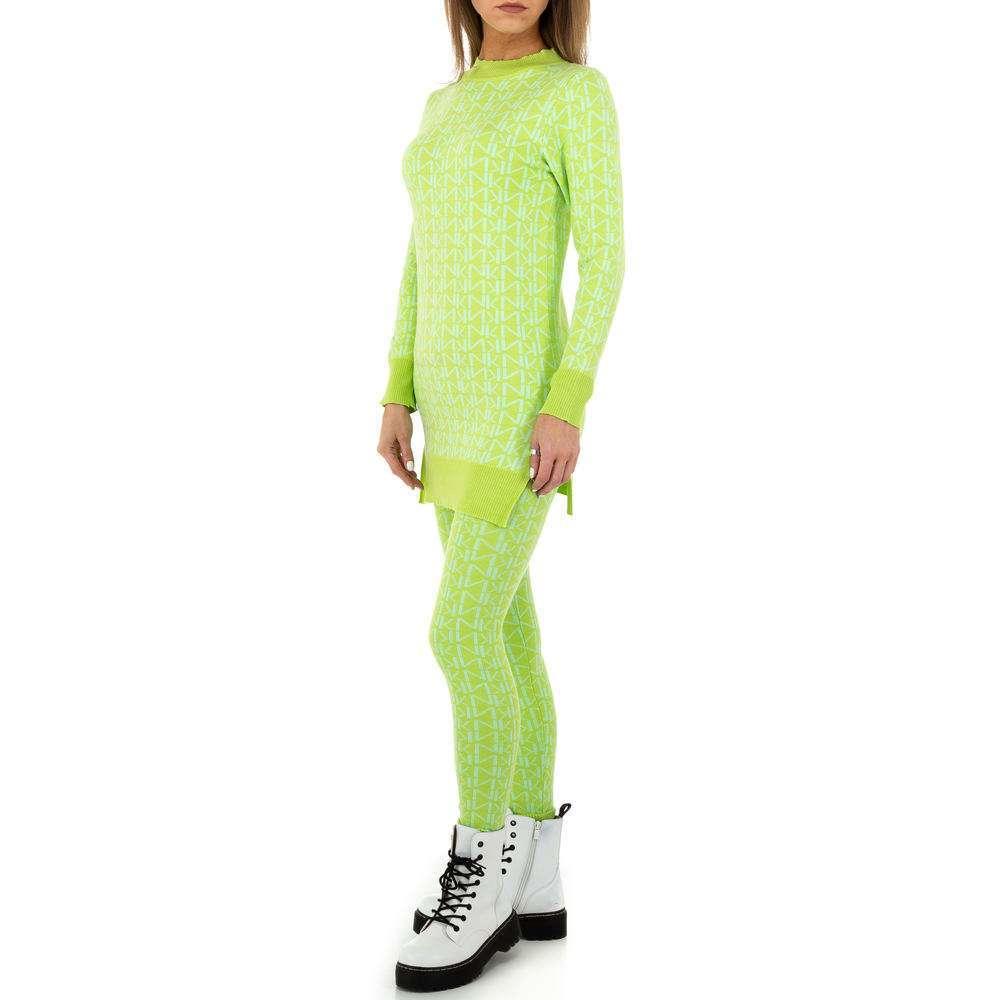 Costum de dama de Noemi Kent - verde deschis  - image 2