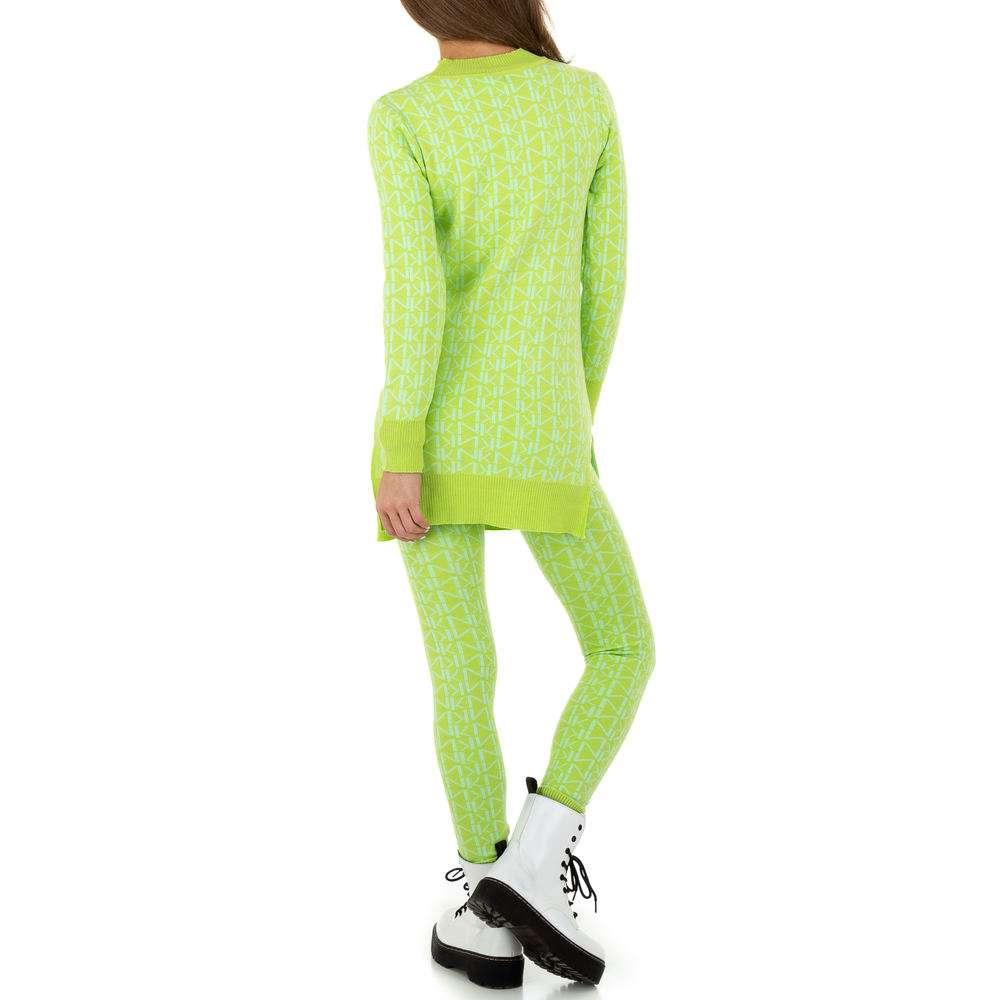 Costum de dama de Noemi Kent - verde deschis  - image 3