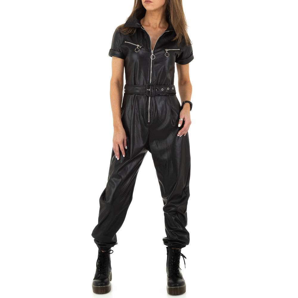 Pantaloni de dama de Emma% 26Ashley Design - negru