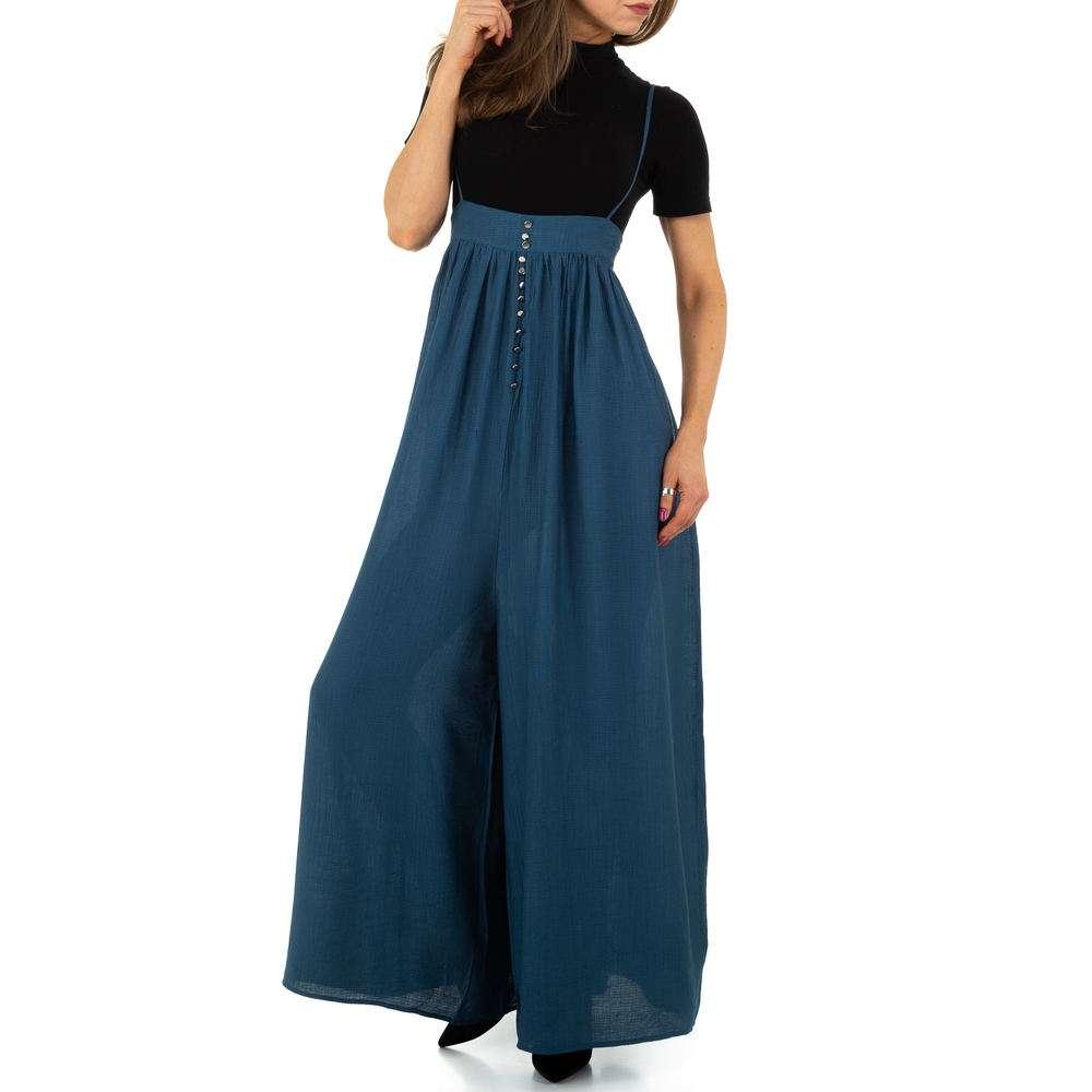 Pantaloni de dama de Voyelles - albastru
