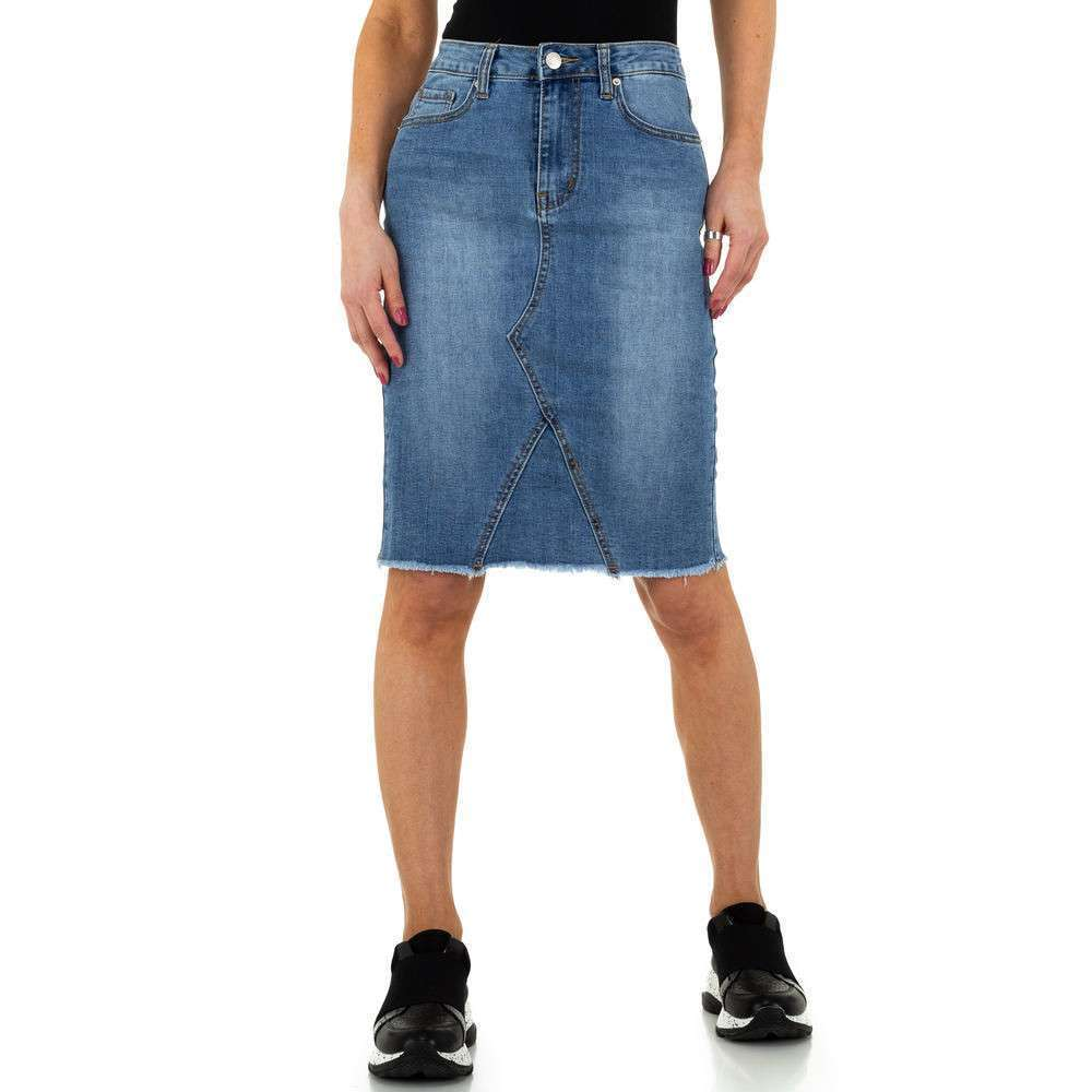 Jupe femme par Jewelly Jeans - bleu