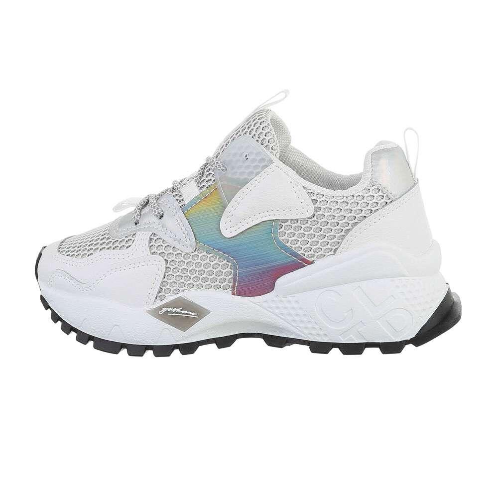 Обувь спортивная женская - белая