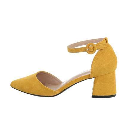 Damen Klassische Pumps - yellow