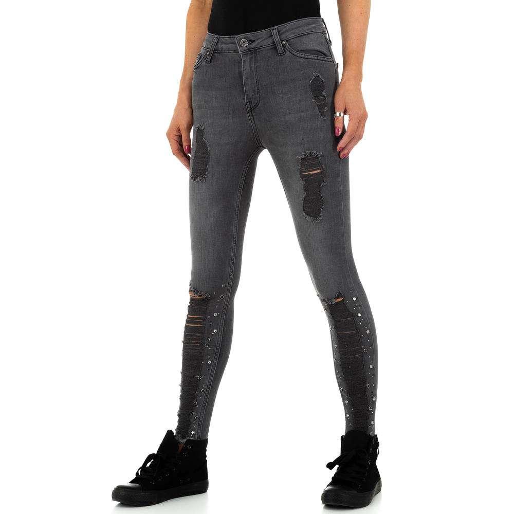 Blugi de dama de la Daysie Jeans - gri - image 5