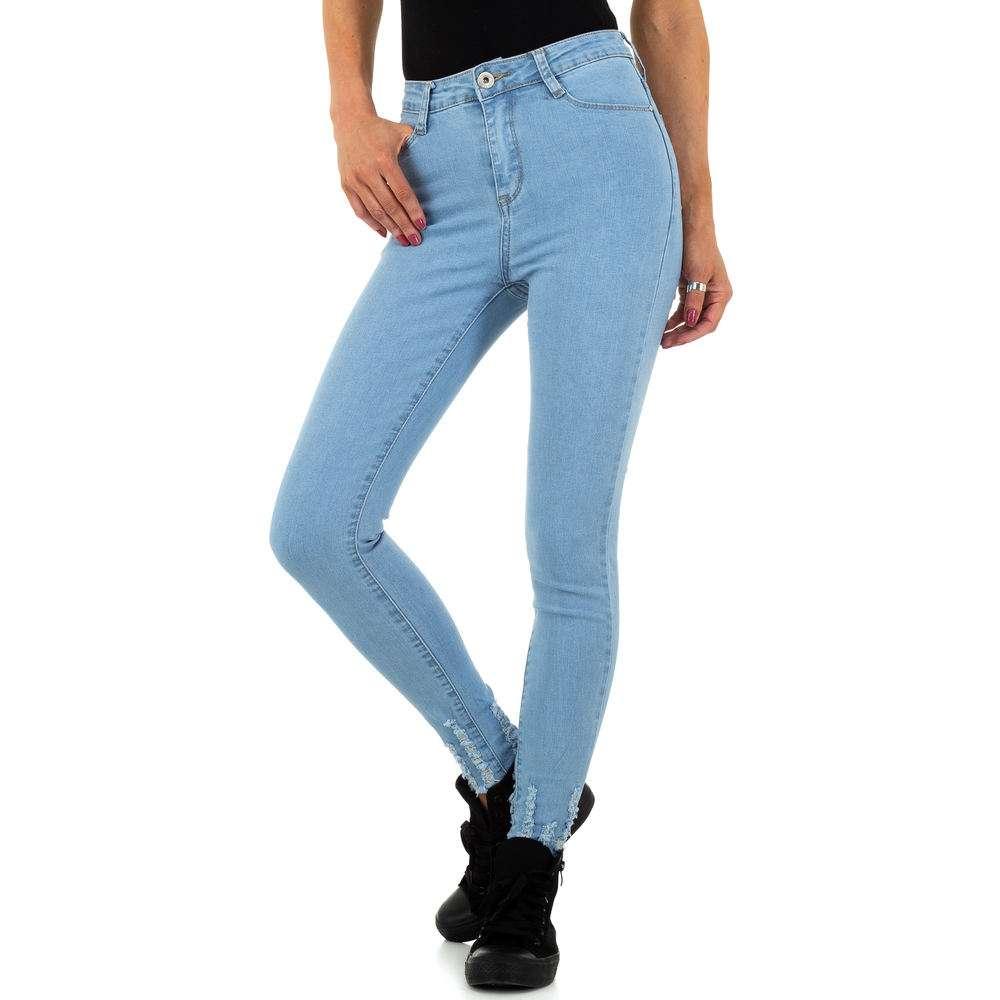 Blugi de dama de la Daysie Jeans - deschis albastră - image 4