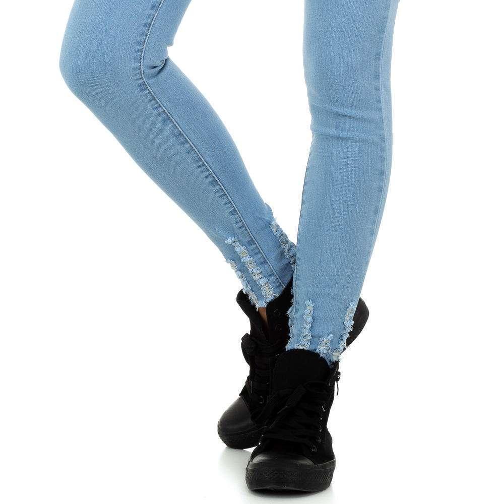 Blugi de dama de la Daysie Jeans - deschis albastră - image 5