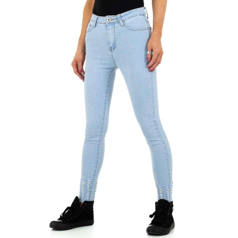 Blugi de dama de la Daysie Jeans - deschis  albastră - image 6