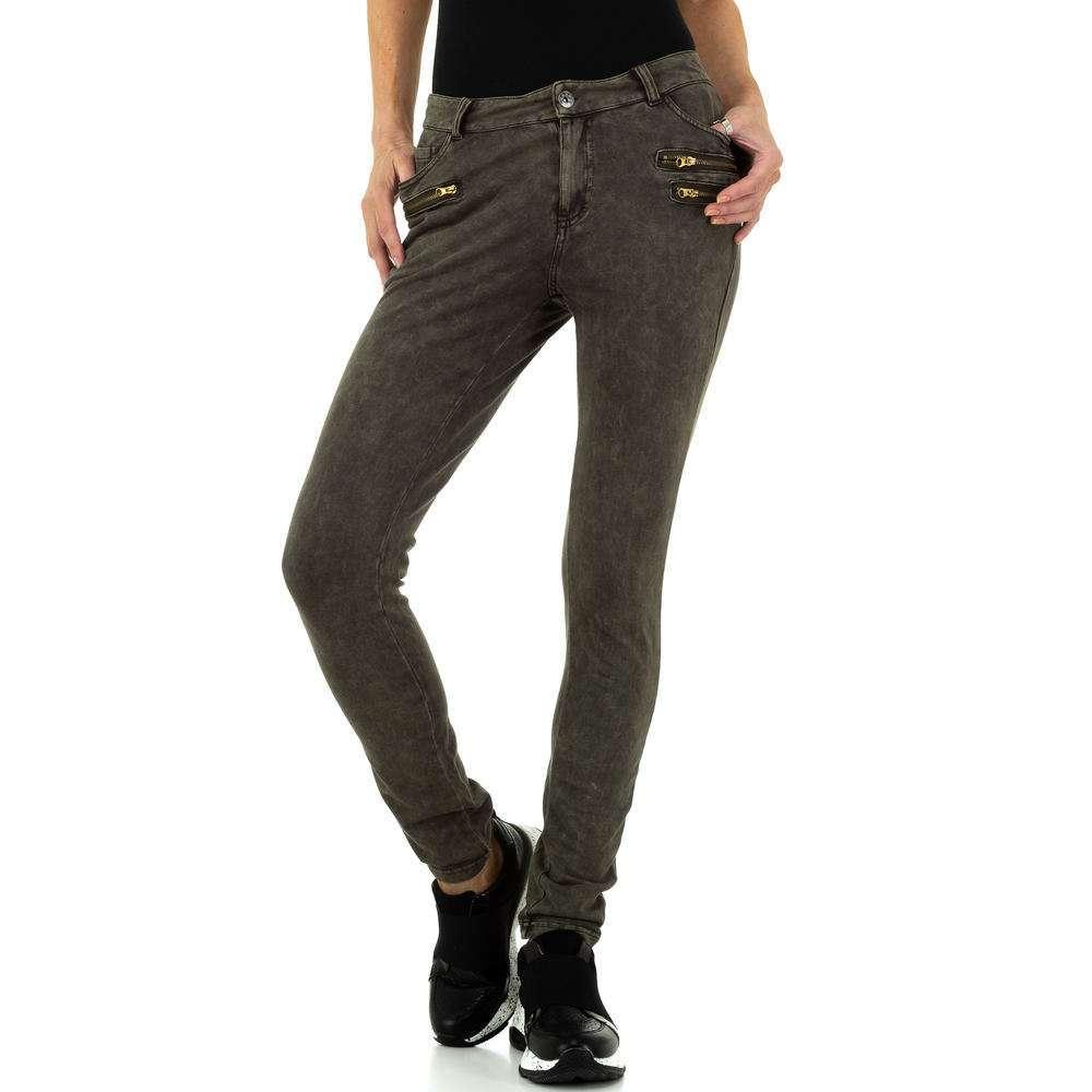 Damen Hose von Metrofive - khaki