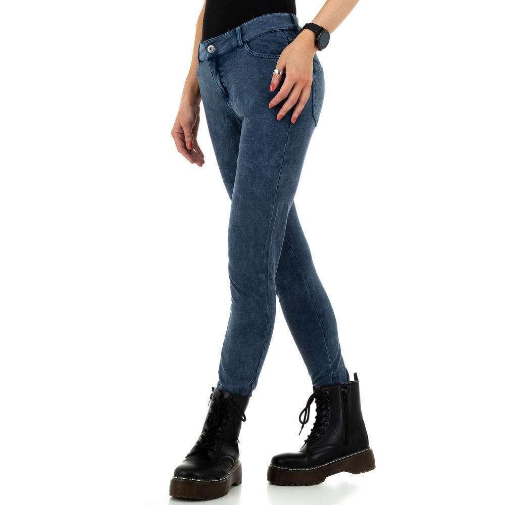 Pantaloni de dama de la Metrofive - albastru - image 2