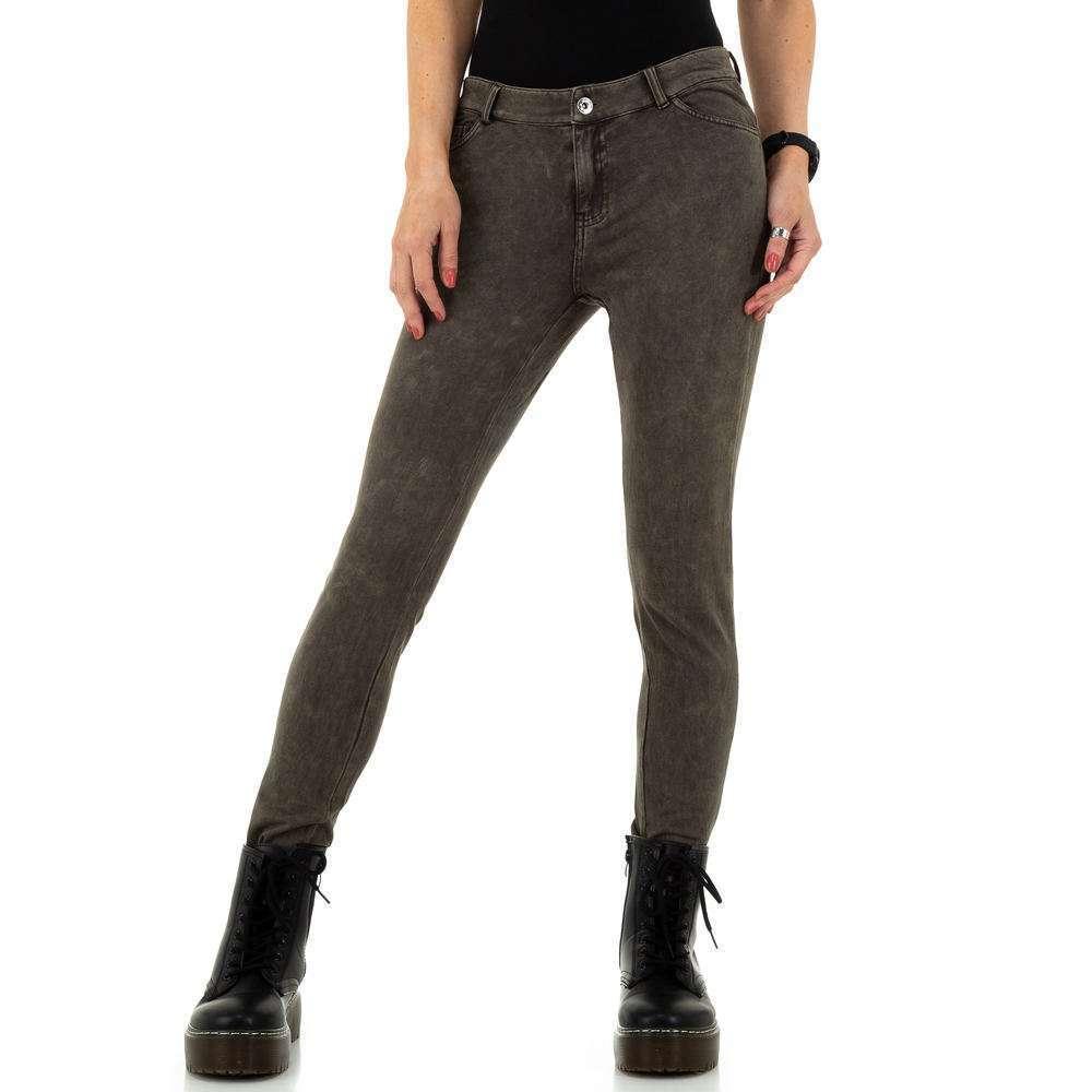 Pantaloni de dama de la Metrofive - kaki