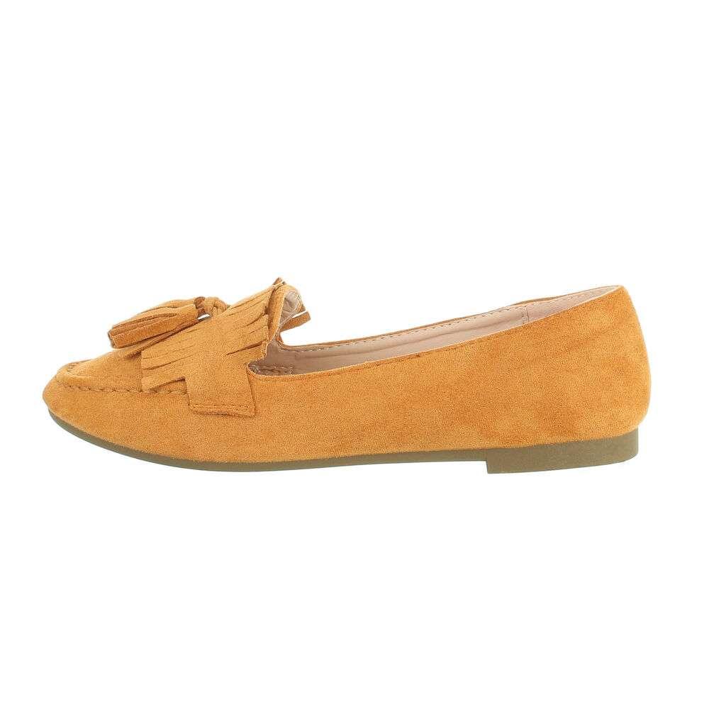 Papuci de damă - cămilă