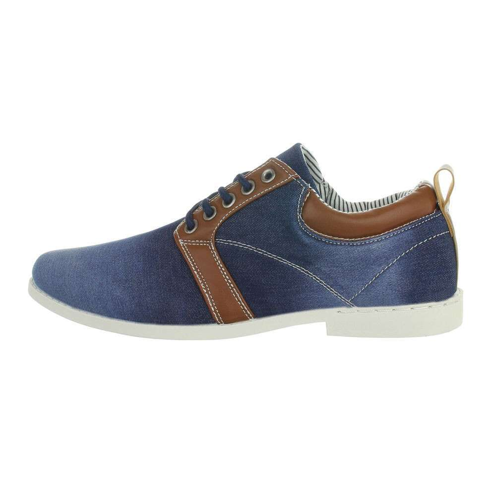 Chaussures casual homme - bleu marine