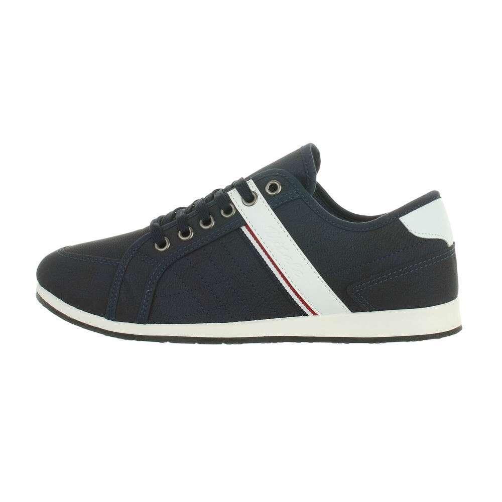 Pantofi casual pentru bărbați - albastru închis