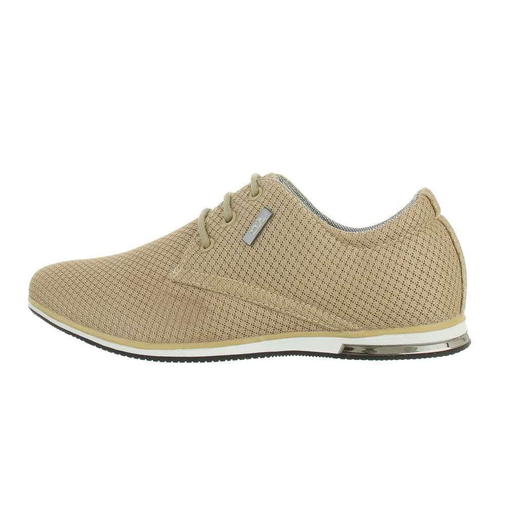 Pantofi casual pentru bărbați - kaki