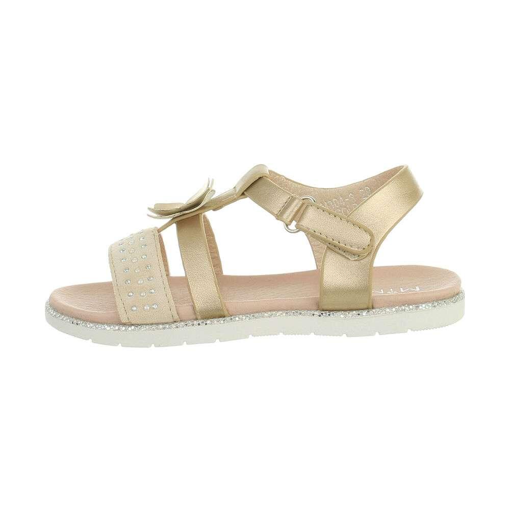 Sandales pour enfants - or