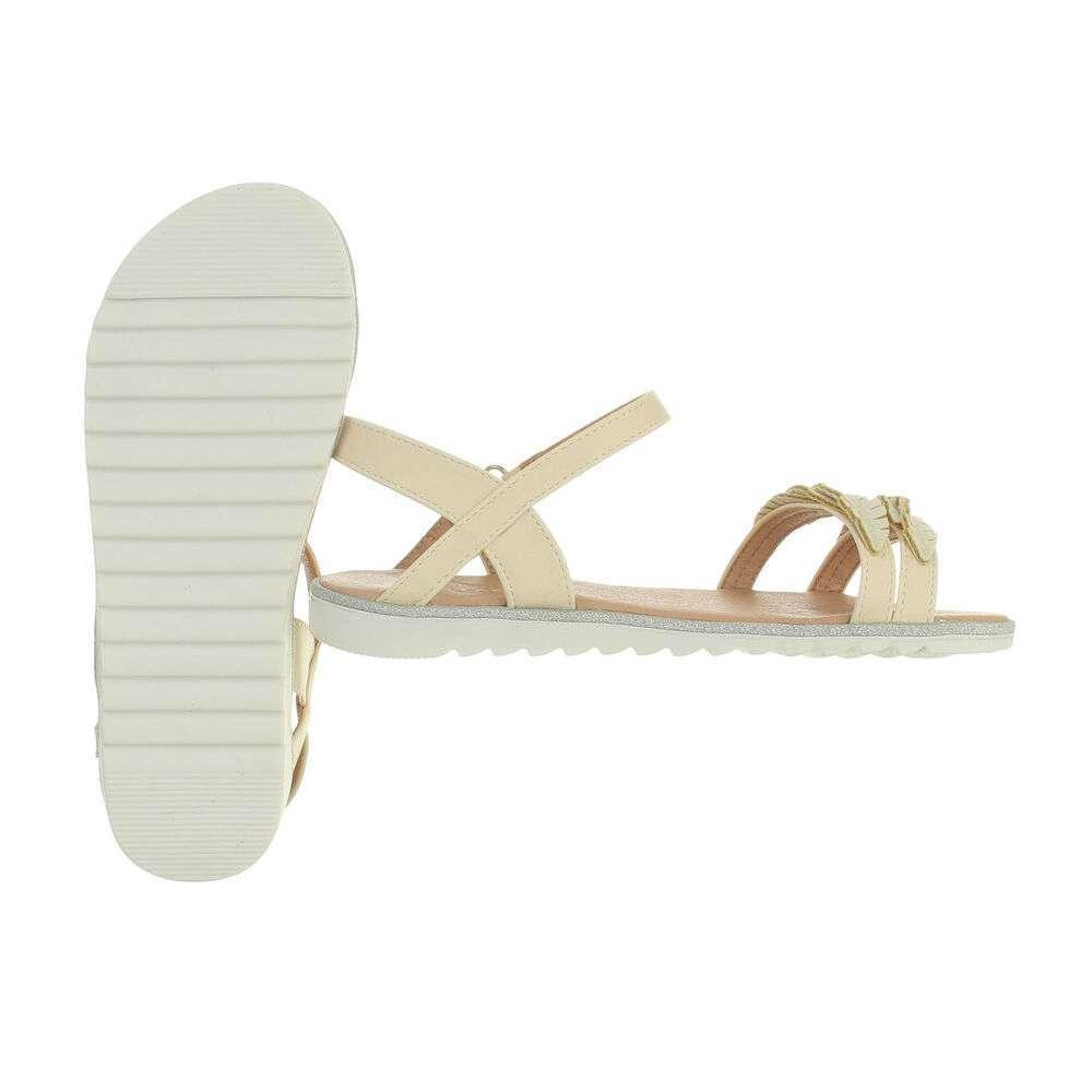 Sandale ortopedice pentru copii - bej - image 2
