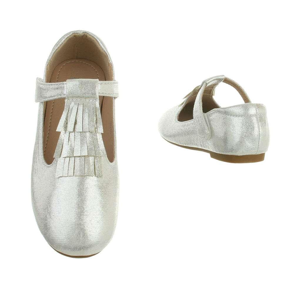 Balerini pentru copii - argintii - image 3