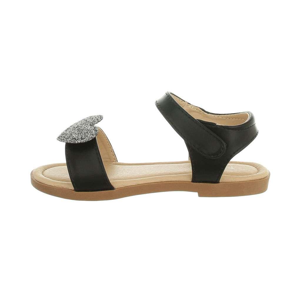 Sandales pour enfants - noir