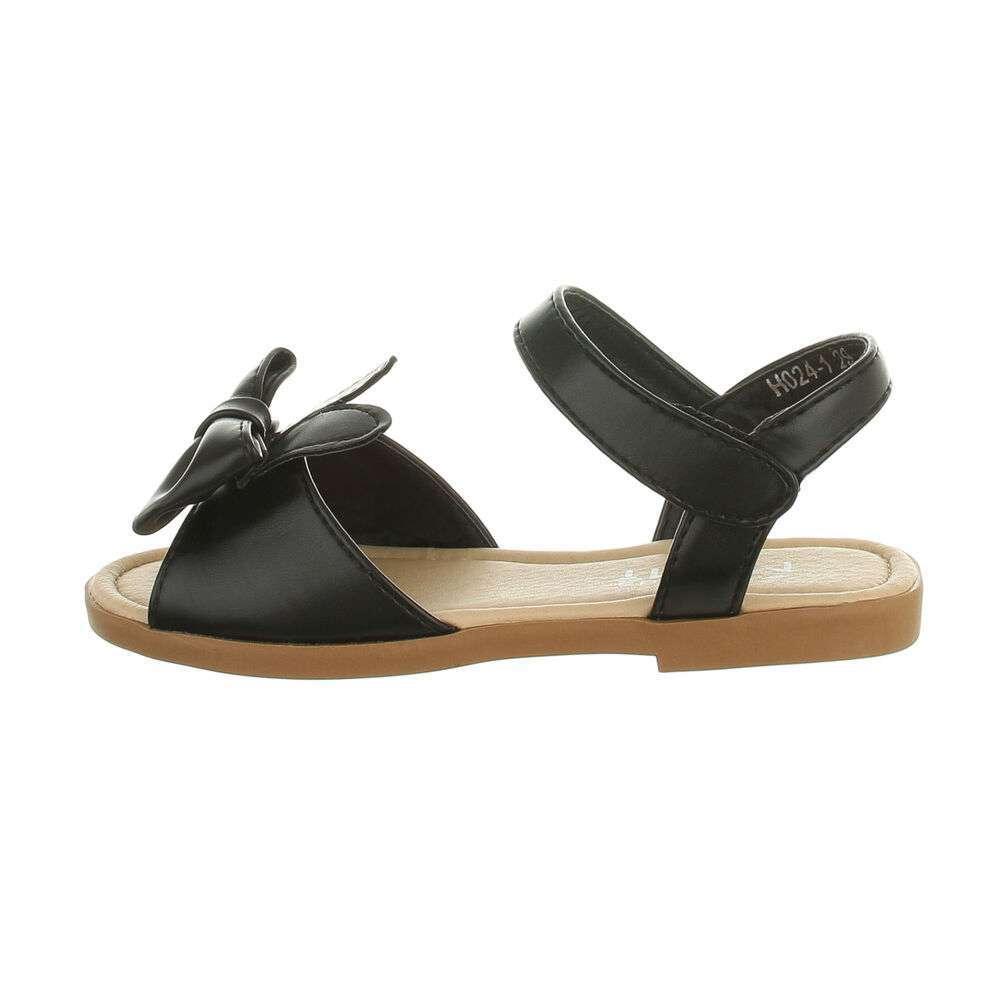 Детские сандалии - черные