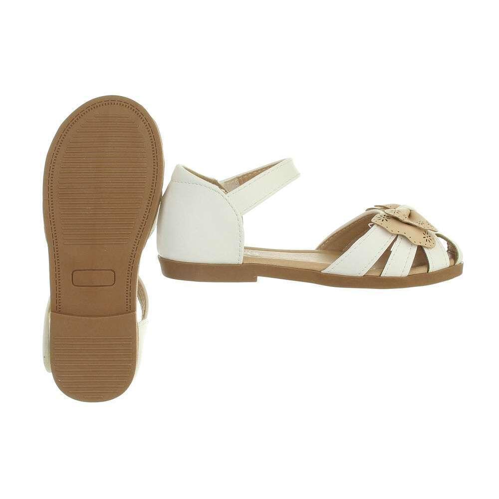 Sandale ortopedice pentru copii - bej alb - image 2