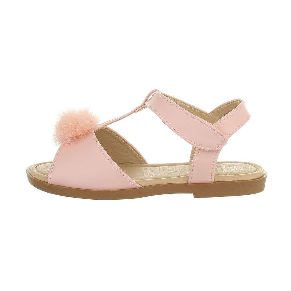 Sandale ortopedice pentru copii - roz - image 1