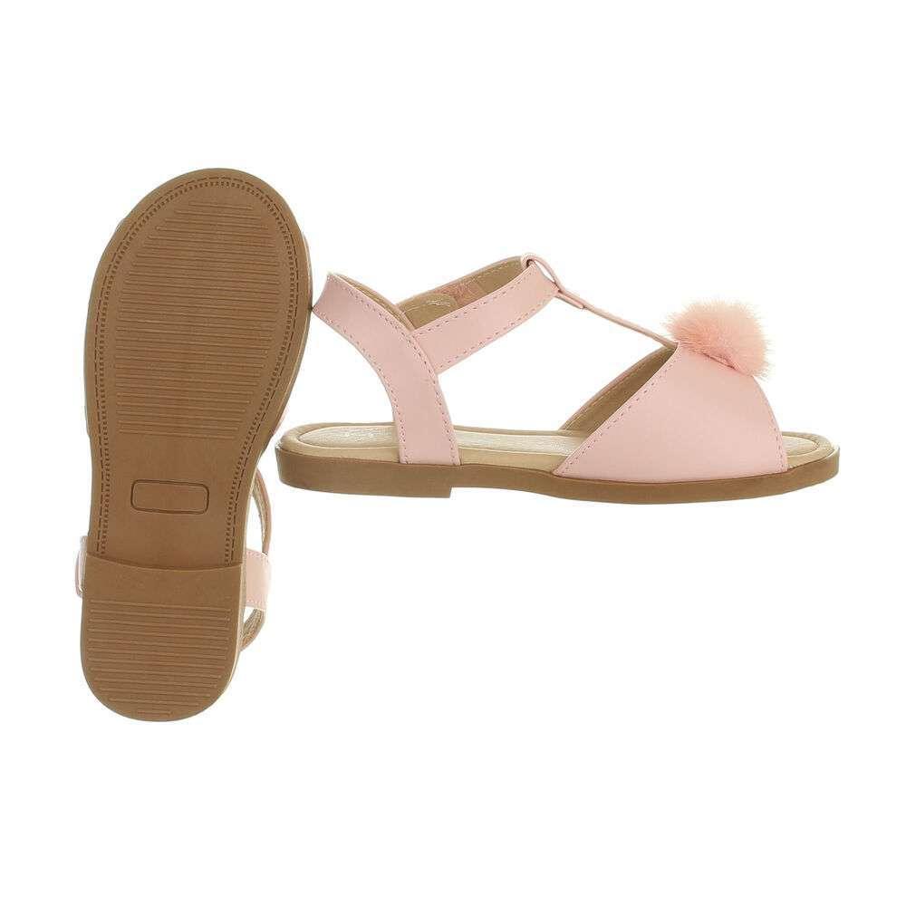 Sandale ortopedice pentru copii - roz - image 2