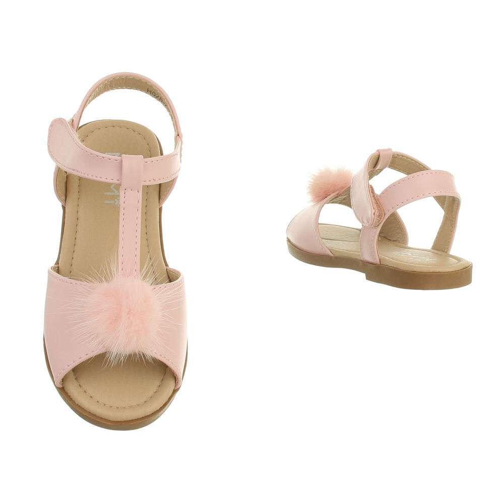 Sandale ortopedice pentru copii - roz - image 3